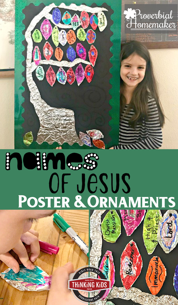 Names of Jesus Poster and Ornaments