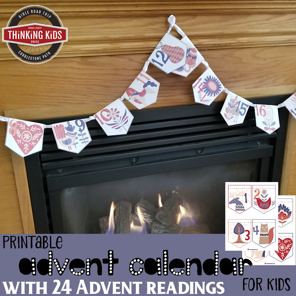 Printable Advent Calendar for Kids