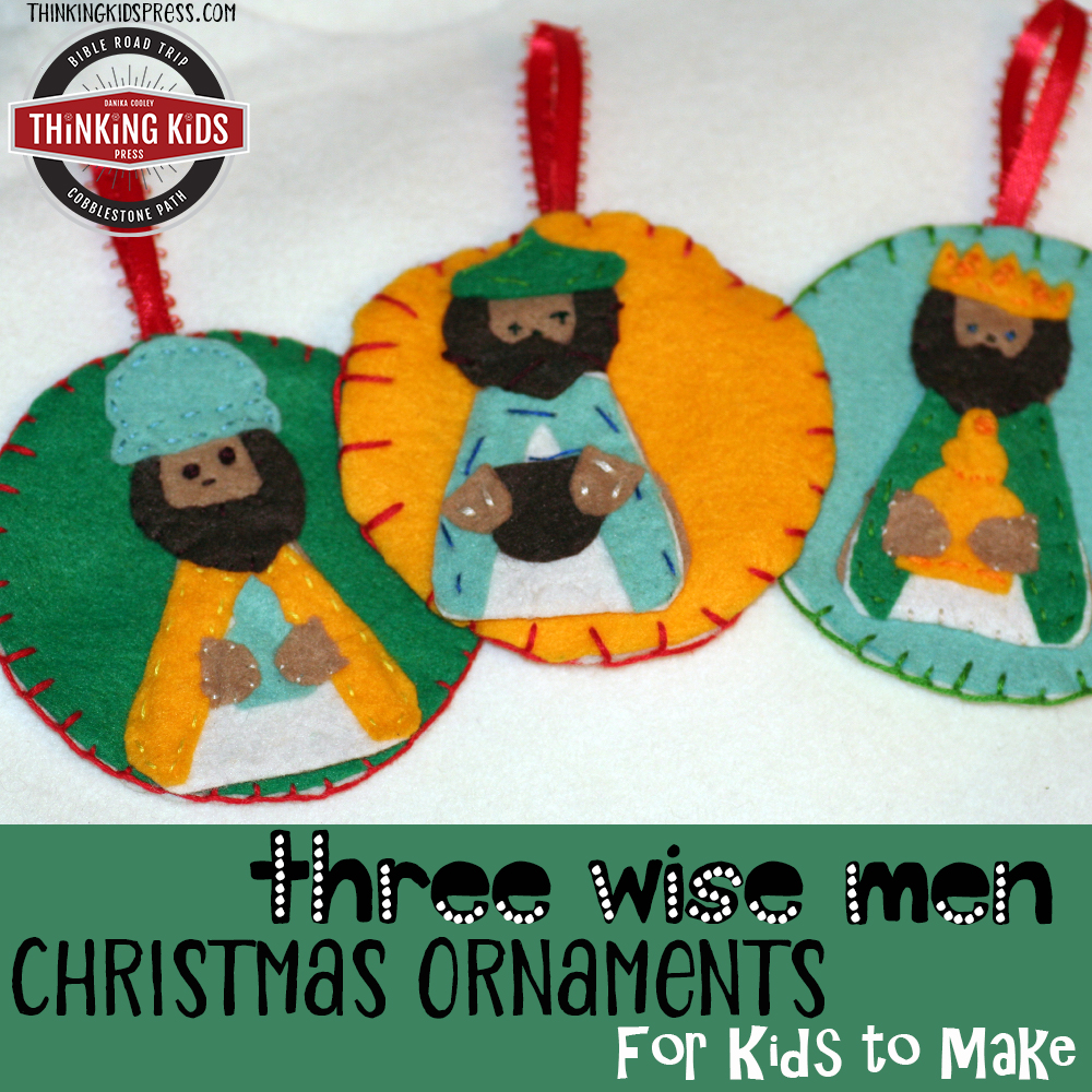 Three Wise Men Christmas Ornaments to Make