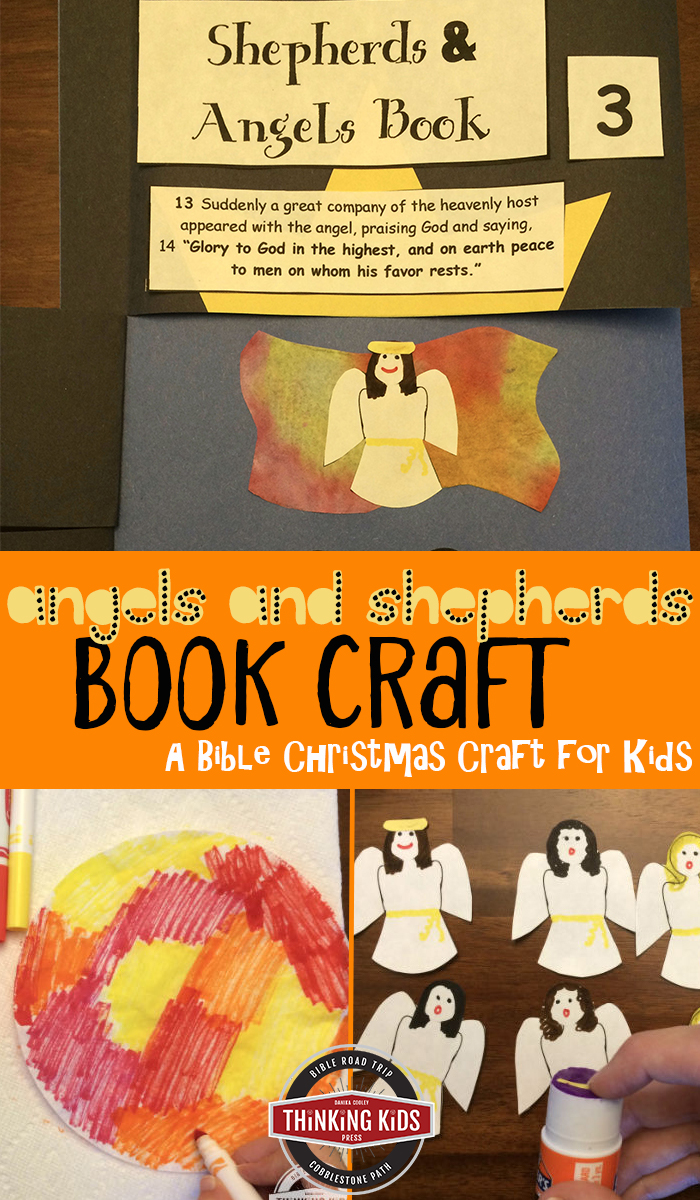 Angels and Shepherds Book Craft Christmas is such a great time of year to snuggle up inside with a cup of hot chocolate. While you're inside, why don't you do a craft with the kiddos?! This Shepherds & Angels Book is a really fun way to bring Scripture to life.