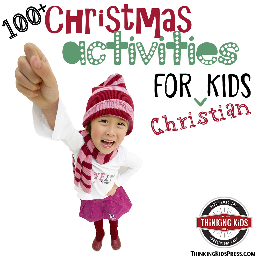 Christmas Activities for Kids -- Point your kids to Christ with joy!