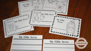 Bible Verses for Children Write, Color, and Memorize Set