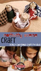 Nativity Scene Craft for Kids