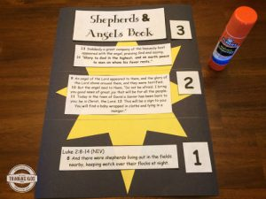 Angels and Shepherds Book Craft