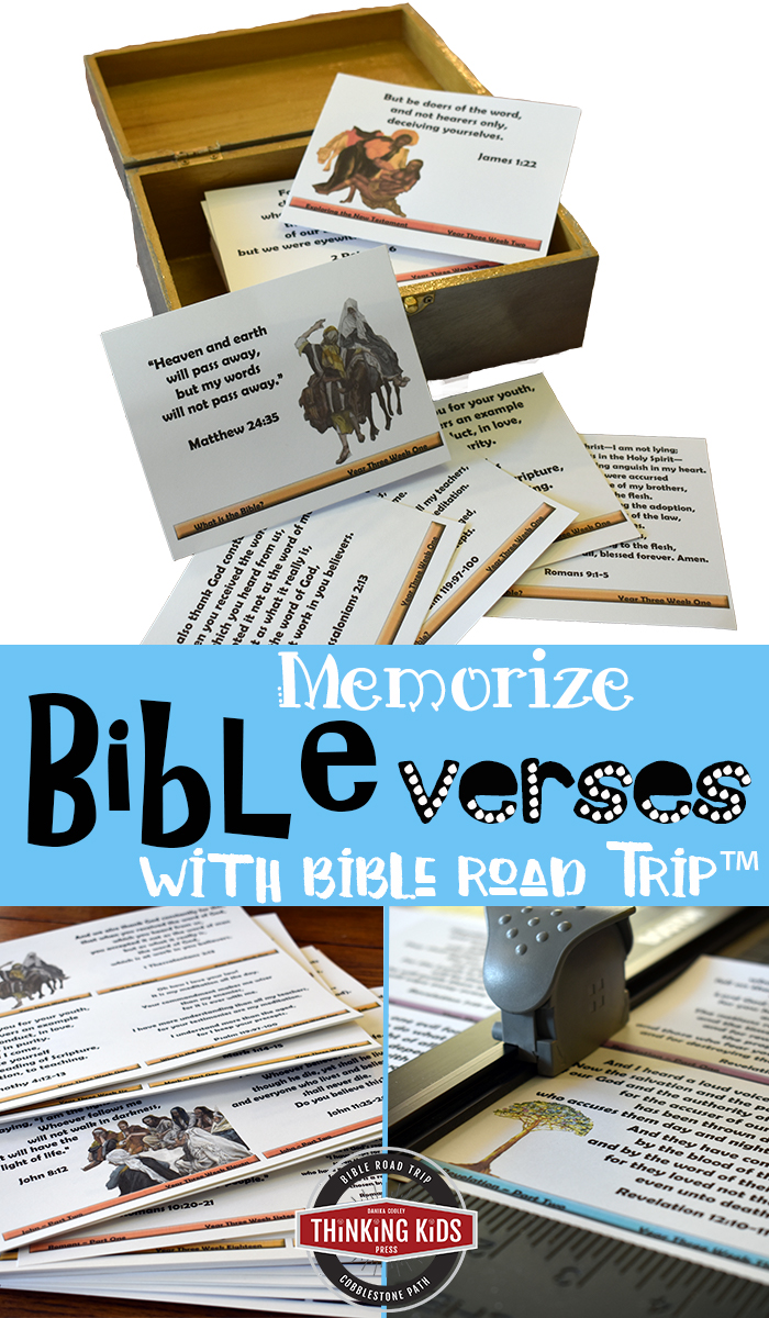 Memorize Bible Verses with Bible Road Trip™