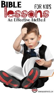 Bible Lessons for Kids: An Effective Method
