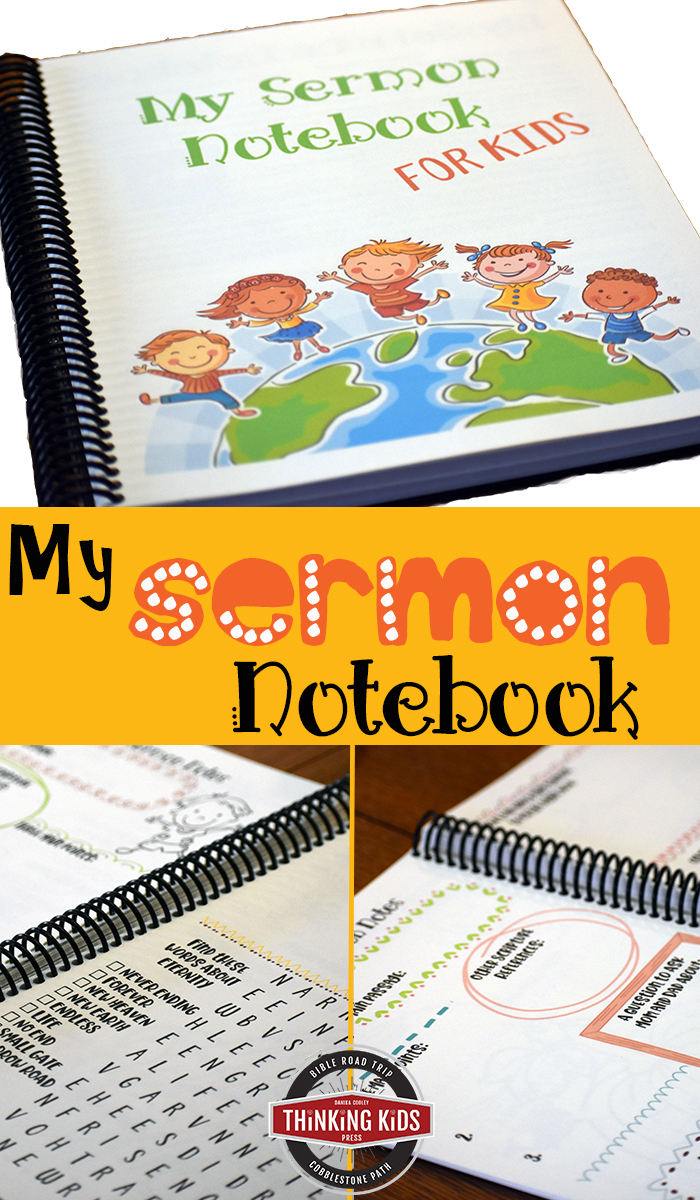 My Sermon Notebook: Keep kids engaged and learning. I love this! It's so cute and relevant to my child's needs.