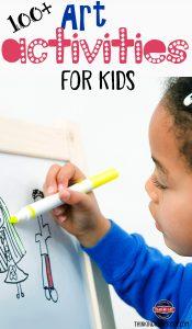 100+ Art Activities for Kids