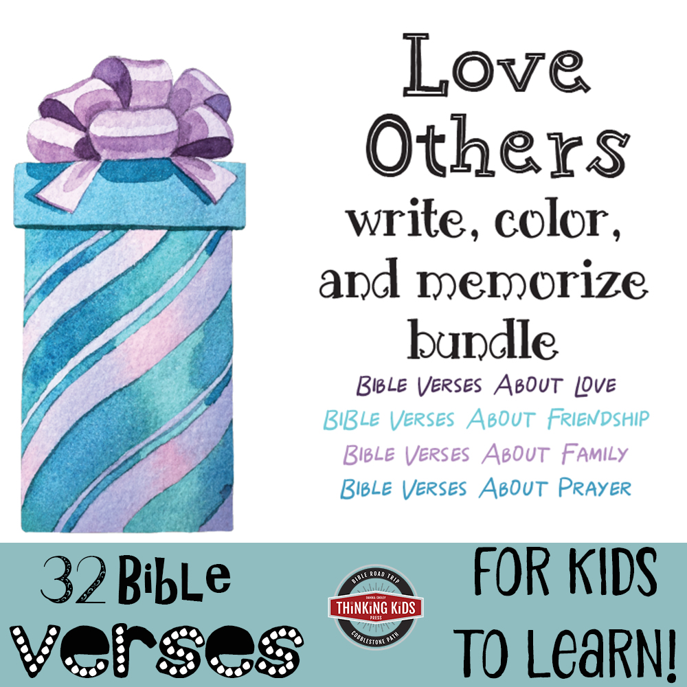 Love Others Write, Color, and Memorize Bundle