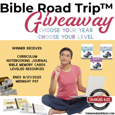 Bible Road Trip™ Giveaway | Choose Your Year & Your Level