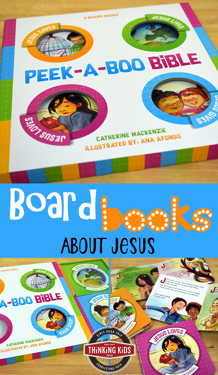 Board Books about Jesus These board books about Jesus share an important message about who Jesus is in the life of your baby, toddler, or preschooler.