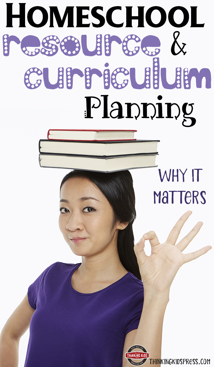 Homeschool Resource and Homeschool Curriculum Planning {Why It Matters}You wouldn't bake cookies with random ingredients from your pantry. Be sure your homeschool resources and curriculum are intentionally chosen as well.
