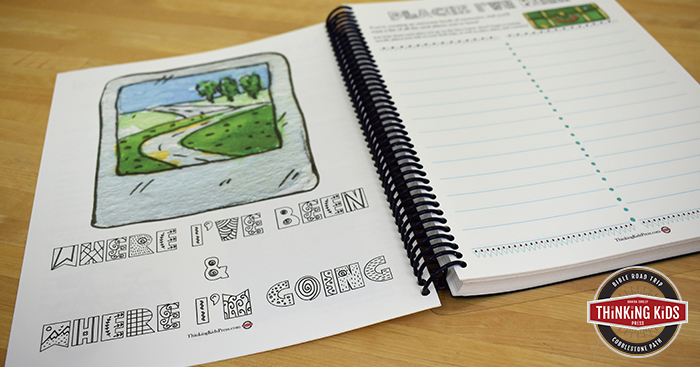 my field trip and travel journal thinking kids