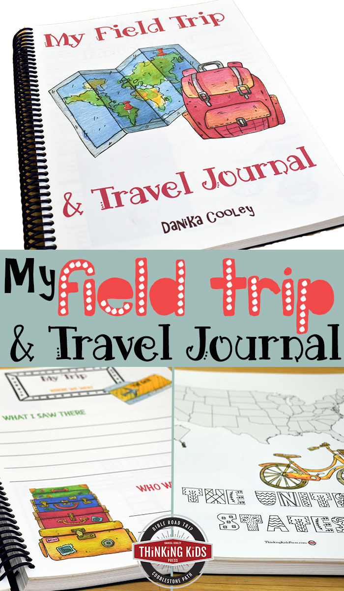 Thinking Kids Press has a special limited time offer for you. You can pick up the My Field Trip and Travel Journal (normally $15) FREE--but it's only available for free through May 15th, 2018.