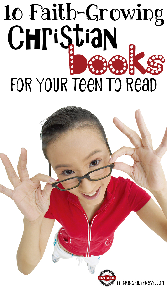 10 Faith-Growing Christian Books for Your Teen to Read Your teen can read books that grow their faith or damage it. Check out these great books that will encourage and inspire them.