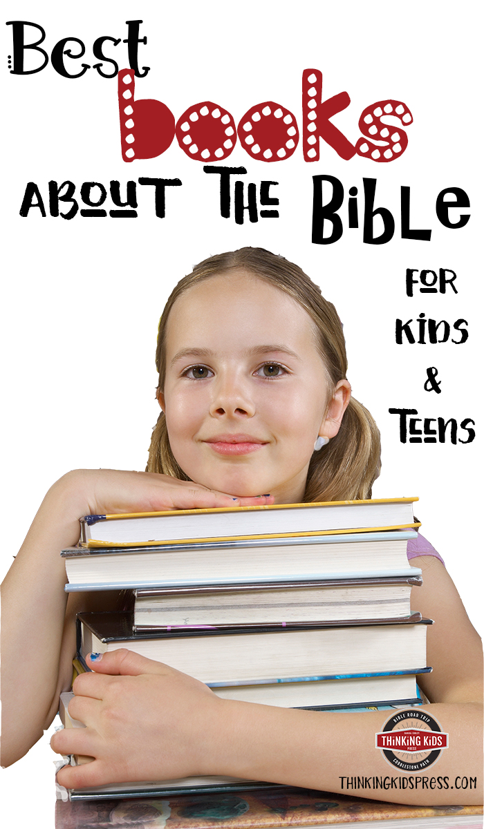 Books about the Bible for Kids and Teens It's important to read through Scripture with your kids. It's also important to read about Scripture as a family: how it came to be, what the major themes mean, and how it applies to your lives.