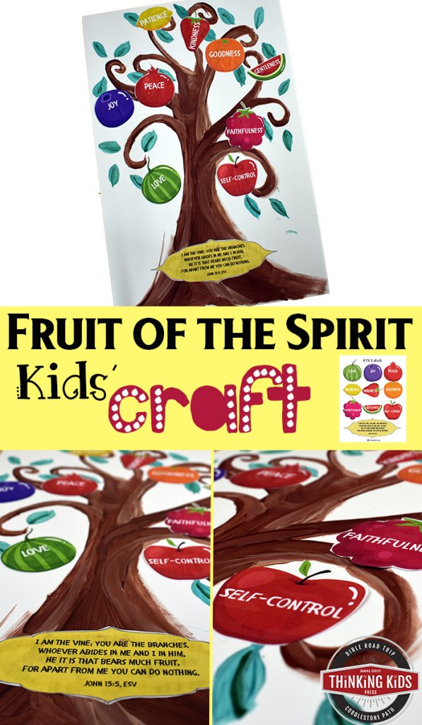 The Fruit of the Spirit Kids' Craft