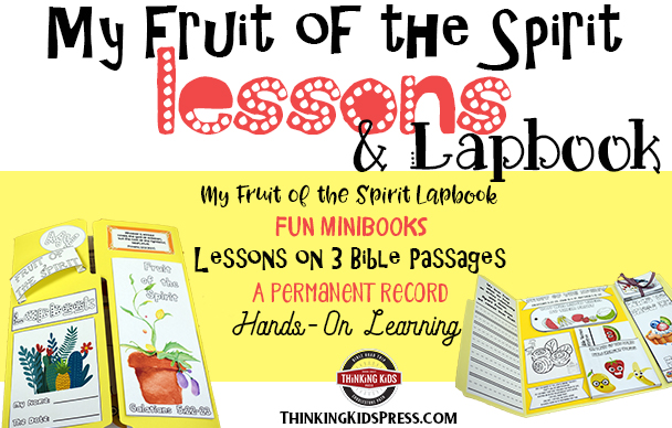 graphic about Fruit of the Spirit Printable referred to as The Fruit of the Spirit Classes and Lapbook - Wondering Children