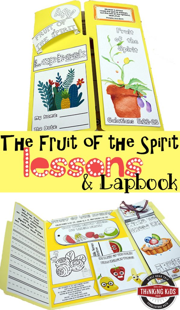 graphic about Fruits of the Spirit Printable identify The Fruit of the Spirit Classes and Lapbook - Wondering Small children