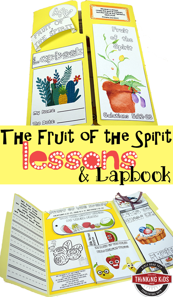 Spend time this summer working on godly character with your 5-12 year olds. Your kids can learn about the fruit of the Spirit with fun, engaging lapbook activities