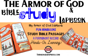 The Armor of God Bible Study and Lapbook