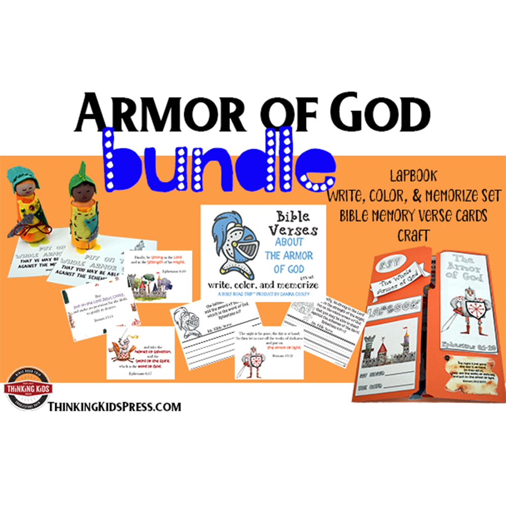 The Full Armor of God Family Bible Study Bundle