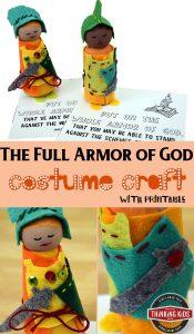 The Full Armor of God Costume Craft