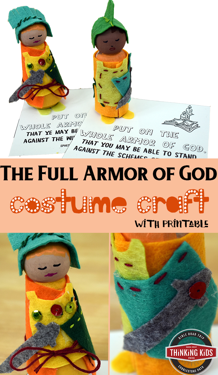 The Full Armor of God Costume Craft