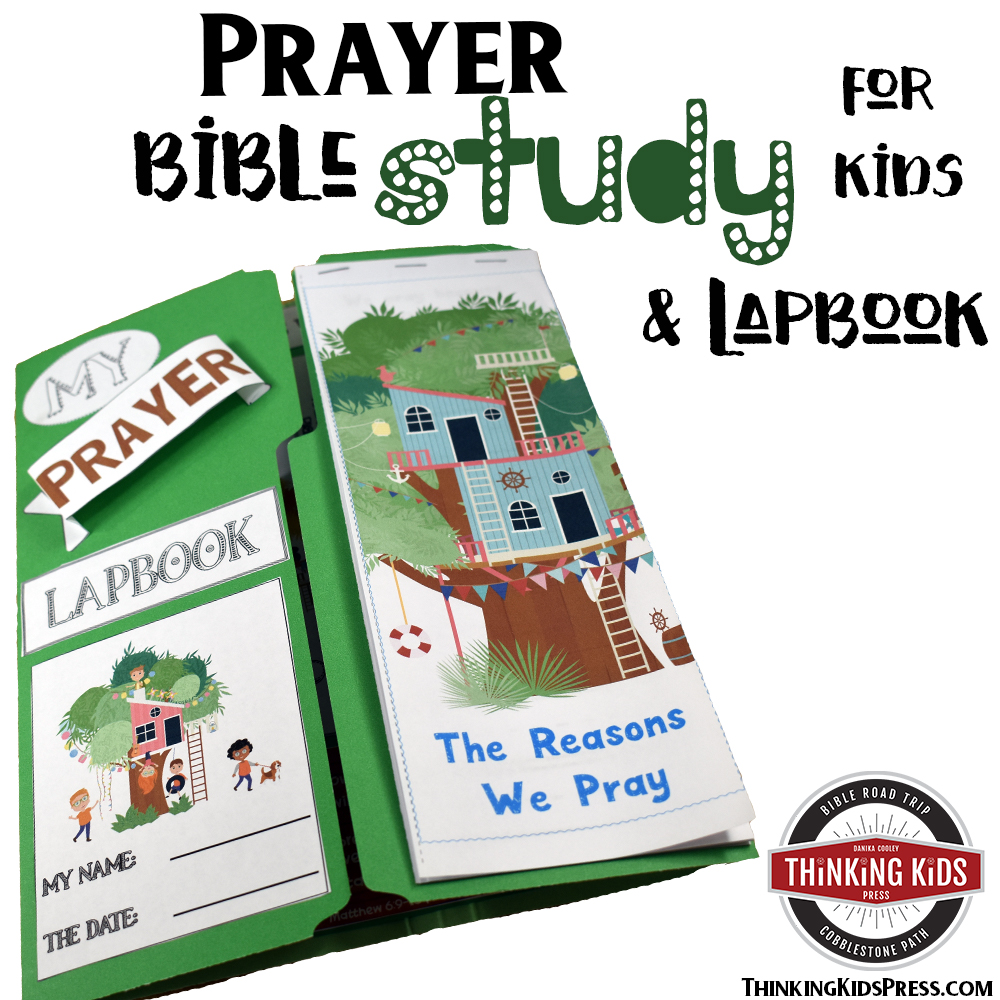 Prayer Bible Study & Lapbook