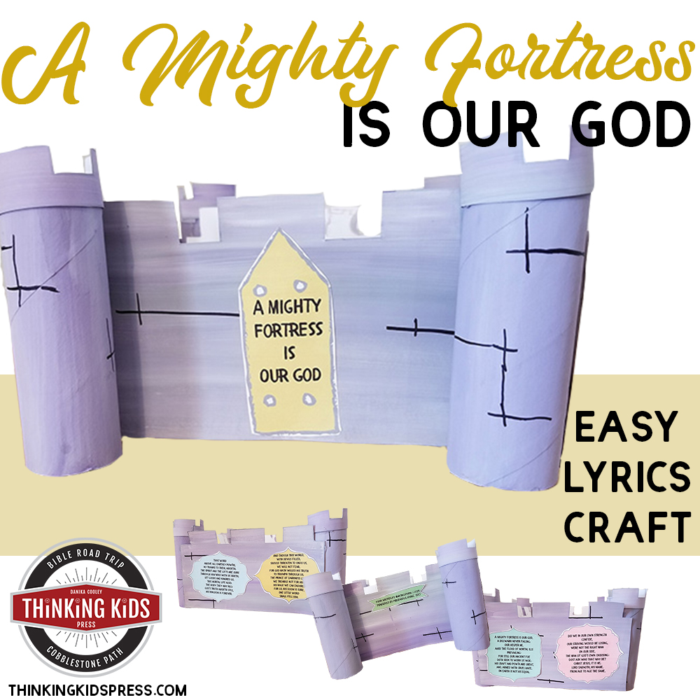 A Mighty Fortress is our God Hymn Craft