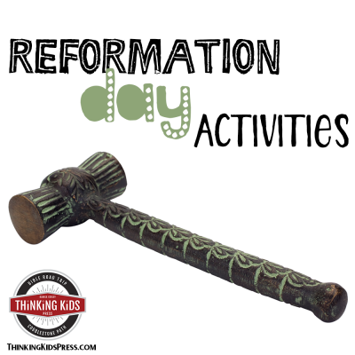 Reformation Day Activities