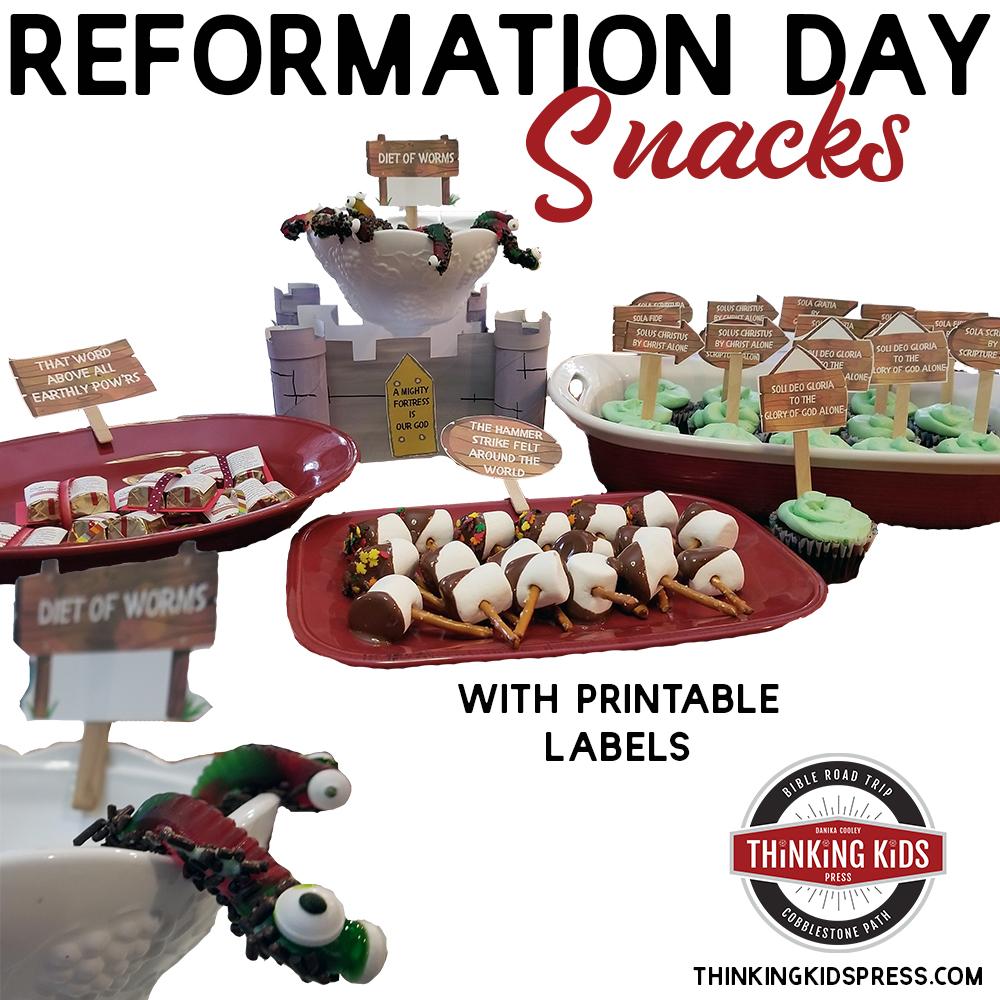 Reformation Day Crafts