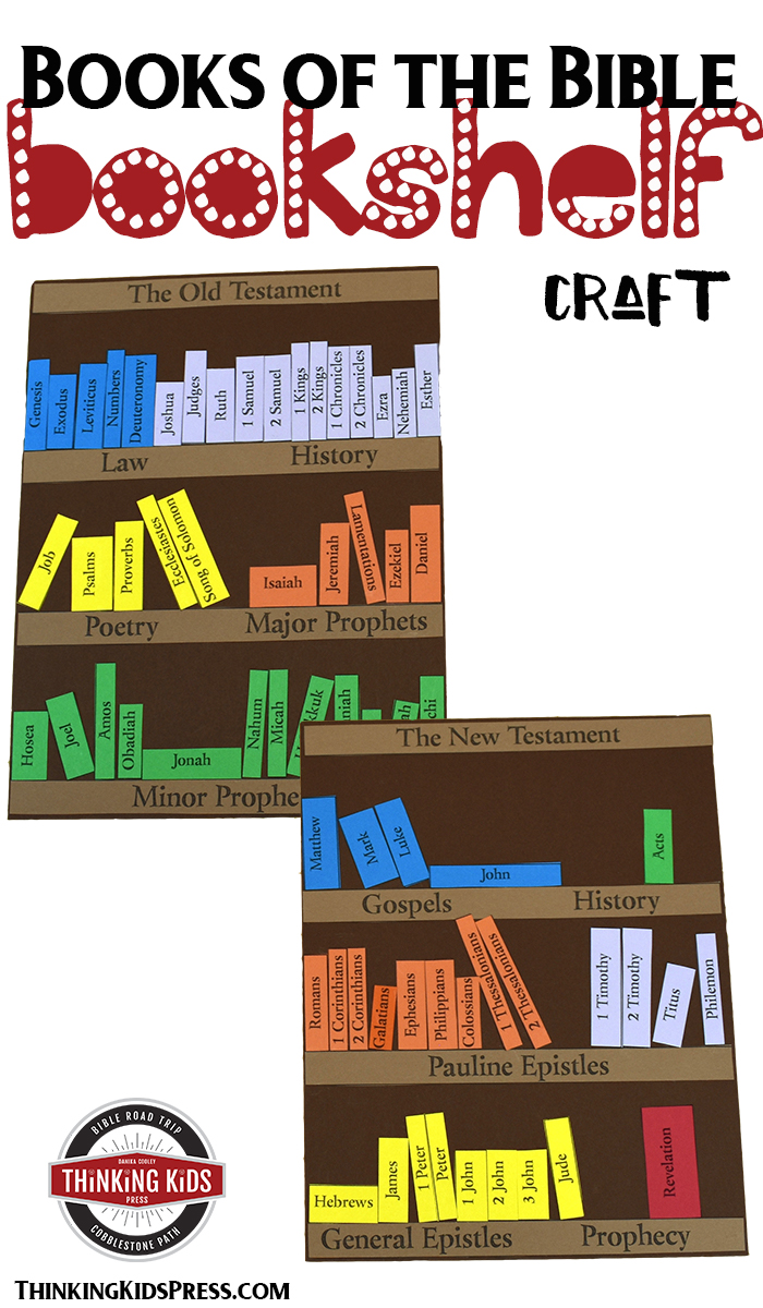 Books Of The Bible Craft Teach Your Kids About Organization