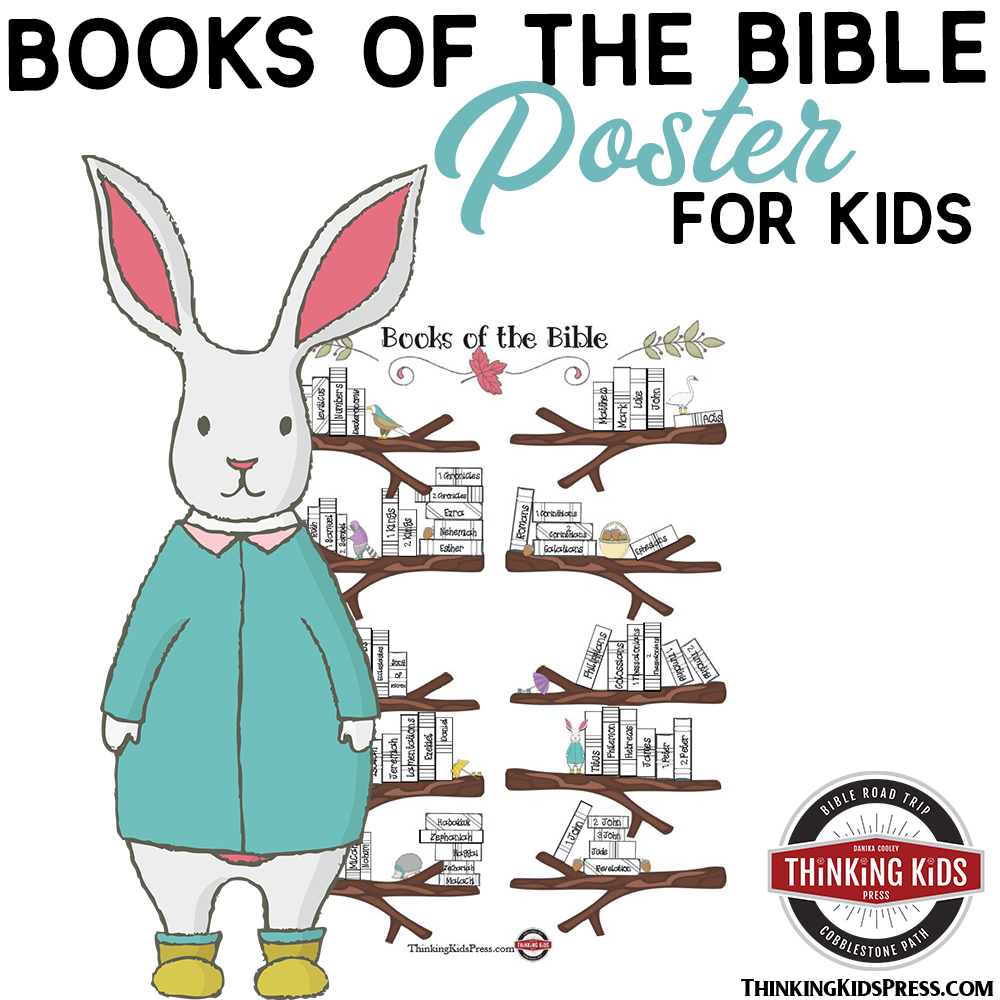 FREE The List of the Books of the Bible in Order Poster