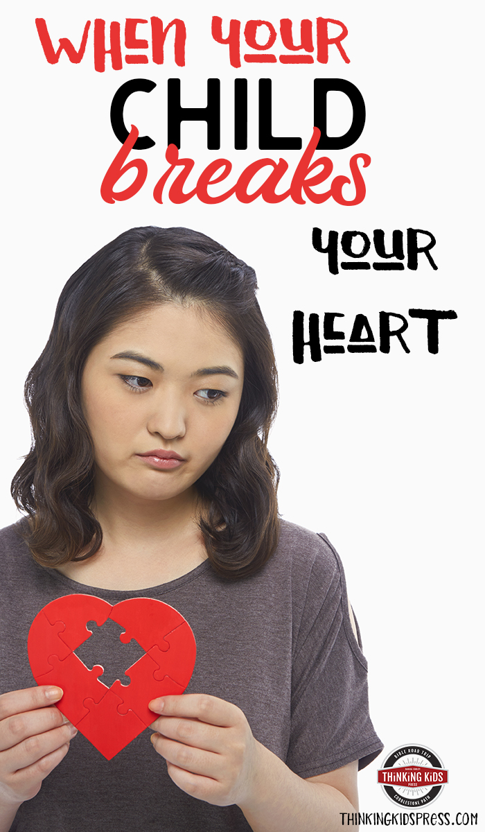 When Your Child Breaks Your Heart | How to Survive What do you do when your child breaks your heart? Here are 7 tips on how to survive when your children break your heart.
