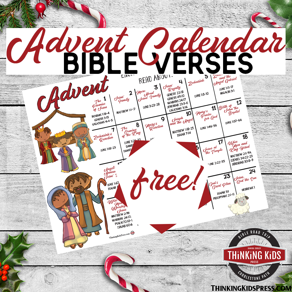 FREE Advent Calendar with Bible Verses