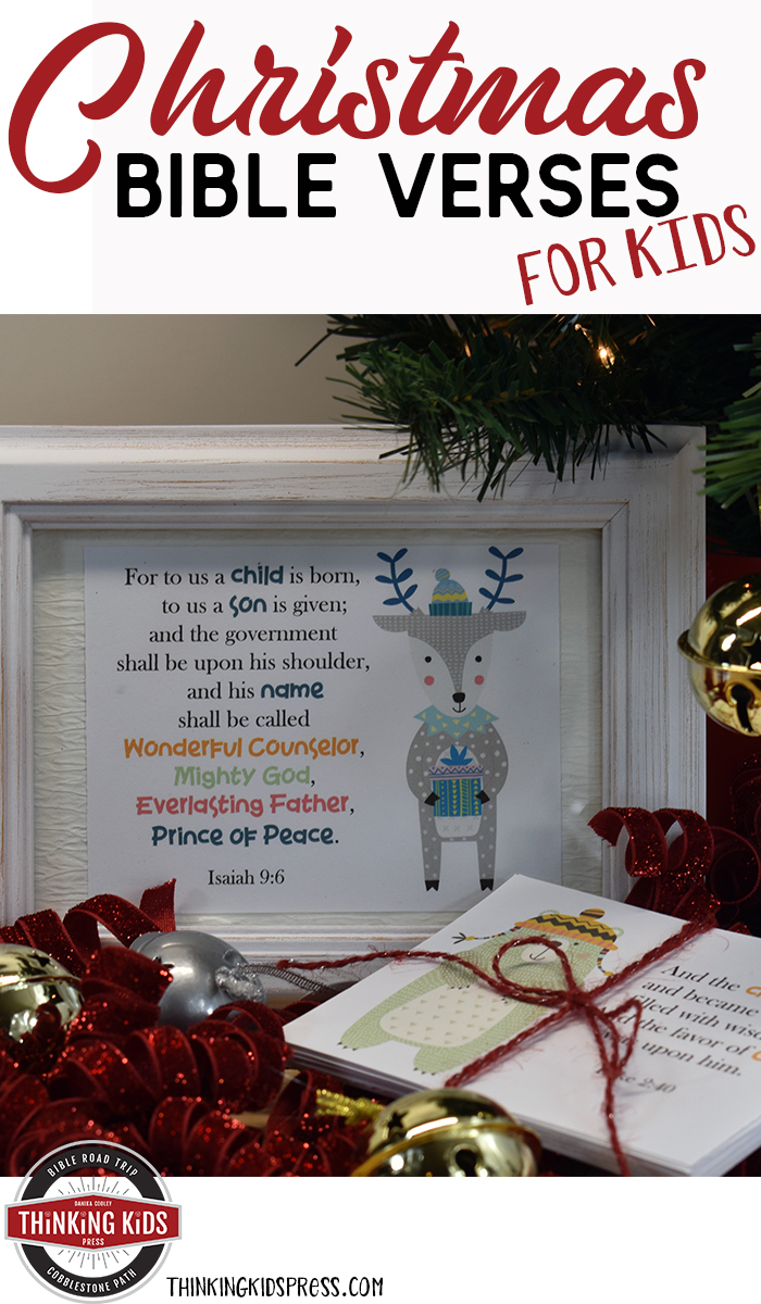 Christmas Bible Verses for Kids | A Fun Way to Learn About the REAL ...