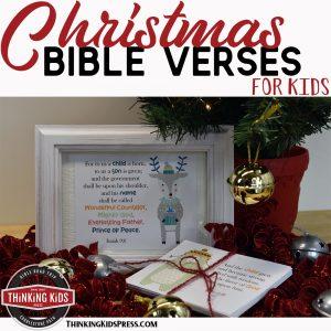 Christmas Bible Verses for Kids