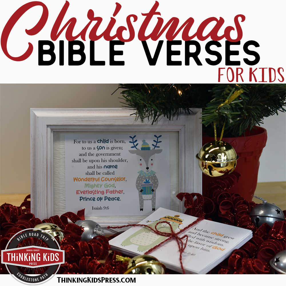 Christmas Bible Verses for Kids | A Fun Way to Learn About the REAL Christmas Story