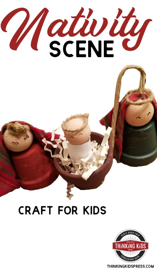 Nativity Scene Craft for Kids