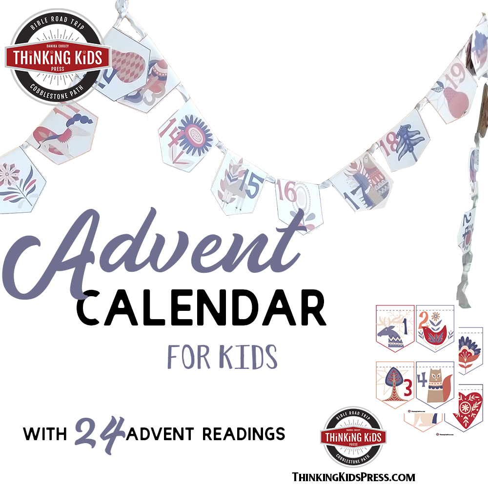 Printable Advent Calendar for Kids with 24 Daily Readings