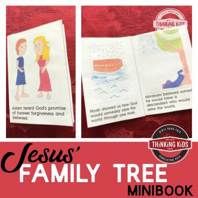 Jesus' Family Tree Minibook