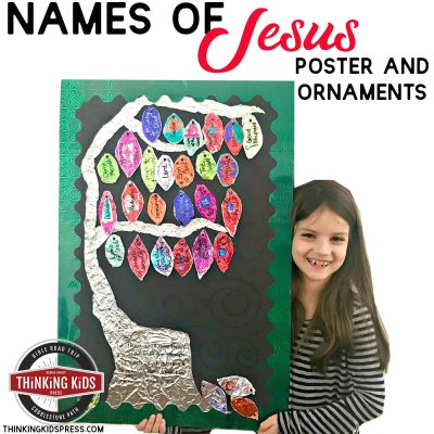 Names of Jesus Poster and Ornaments Craft