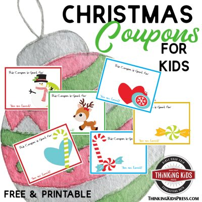 Printable Christmas Coupons Kids will Adore | Great Stocking Stuffers for Pennies