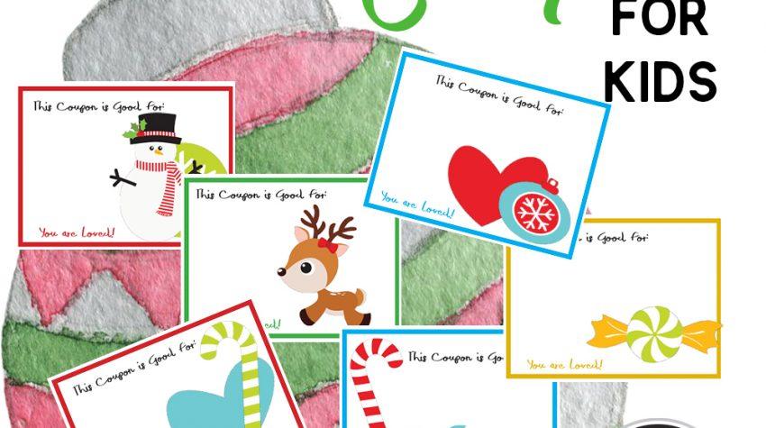 Printable Christmas Coupons your Kids will Adore