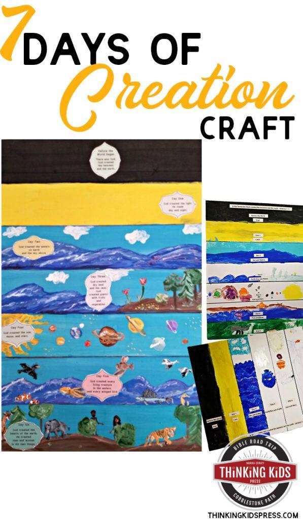 7 Days of Creation Craft