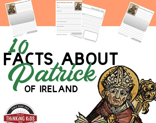 Facts about St Patrick with Notebooking Pages