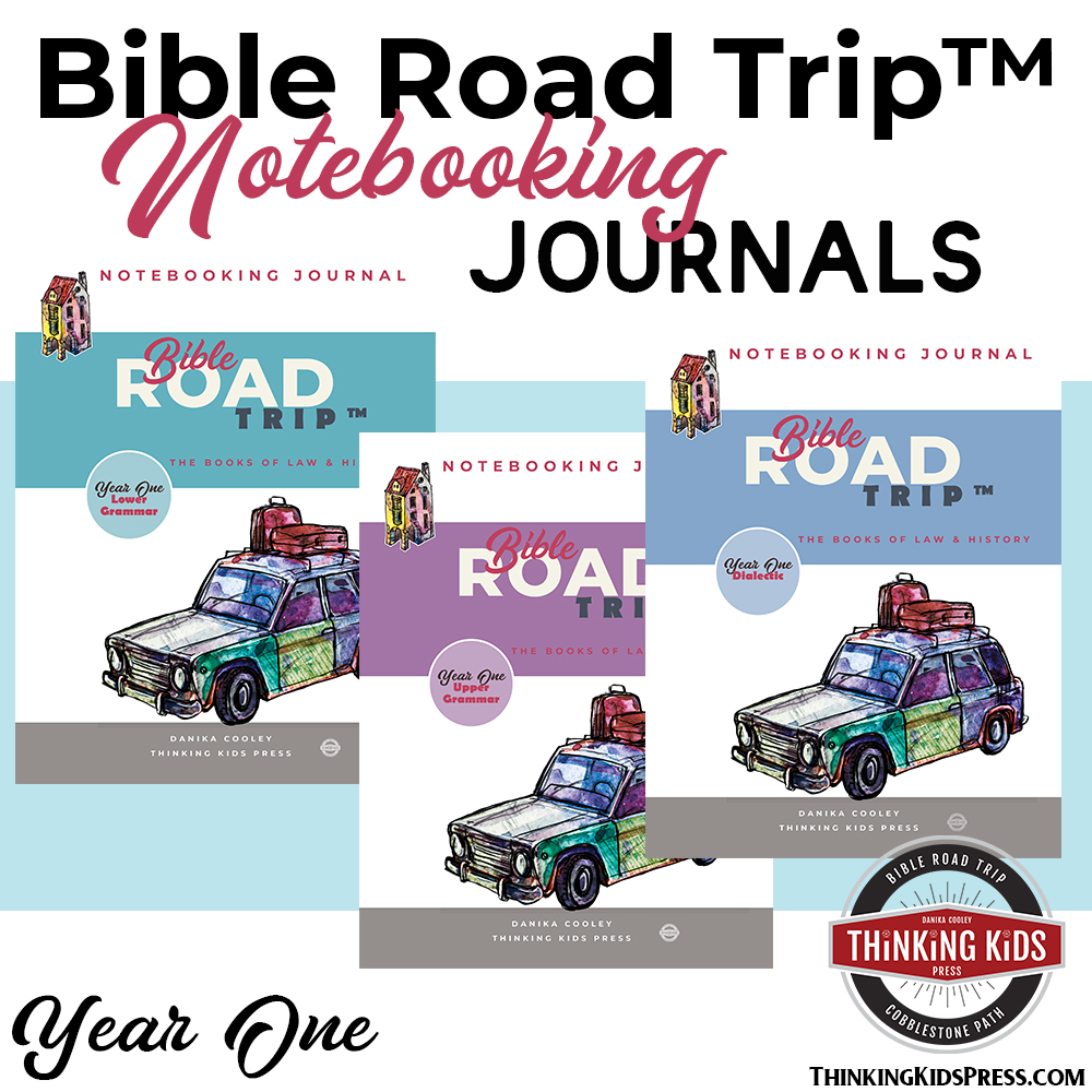Bible Road Trip™ Year One Bible Notebooking Journals