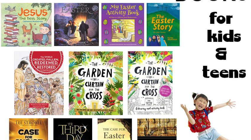 Christian Easter Books for Kids and Teens
