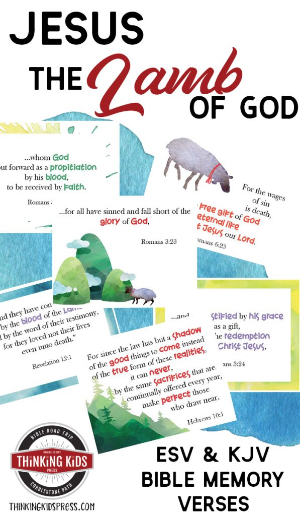 Jesus the Lamb of God Bible Verses for Children